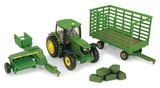 John Deere: 1:64 JD 6R Tractor & Accessories