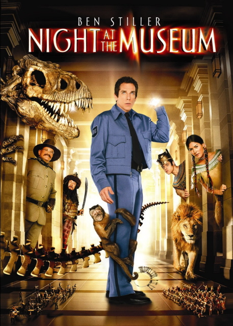 Night At The Museum on DVD image