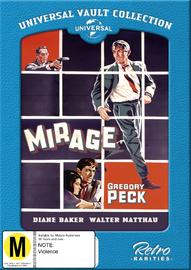 Mirage on DVD
