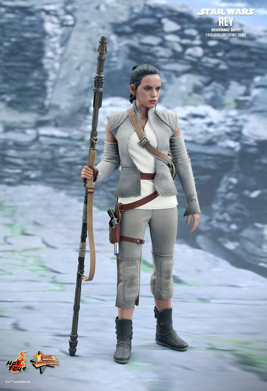 """Star Wars: The Force Awakens - 11"""" Rey (Resistance Outfit) Figure image"""