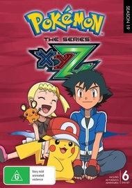 Pokemon The Series: XYZ Complete Collection (6 Disc Set) on DVD