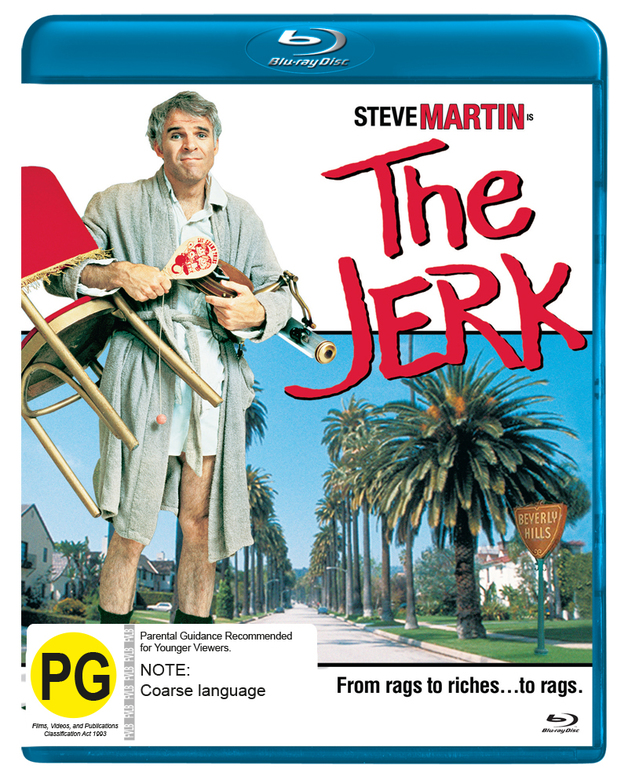 The Jerk on Blu-ray