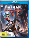 Batman and Harley Quinn on Blu-ray