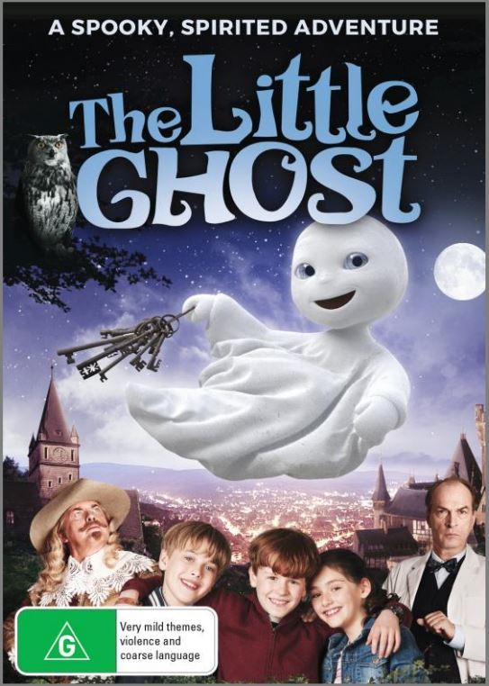 The Little Ghost on DVD image