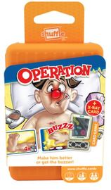 Shuffle Card Game Operation