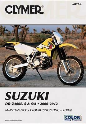 Clymer Suzuki Dr-Z400E, S & Sm Ma