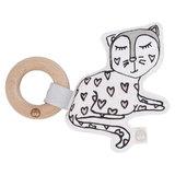 Kippins: Kitty Kiplet - Teething Rattle
