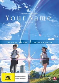 Your Name - Limited Edition (DVD / Blu-ray Combo) on DVD, Blu-ray image