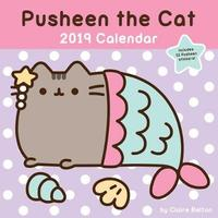 Attractive Pusheen The Cat 2019 Wall Calendar By Claire Belton