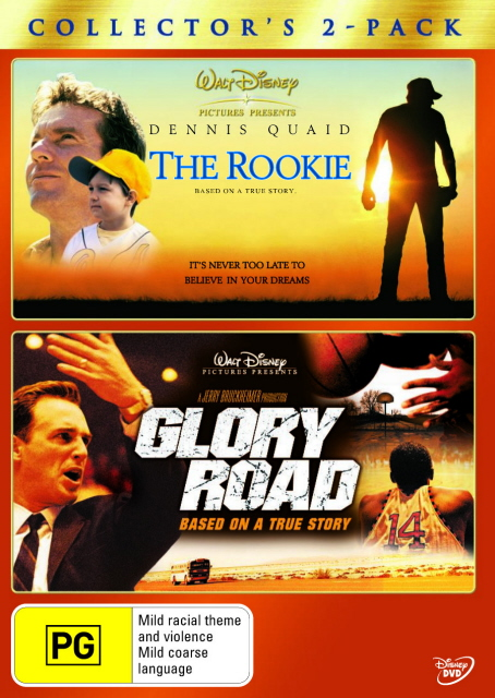 Rookie, The (2002) / Glory Road - Collector's 2-Pack (2 Disc Set) on DVD image