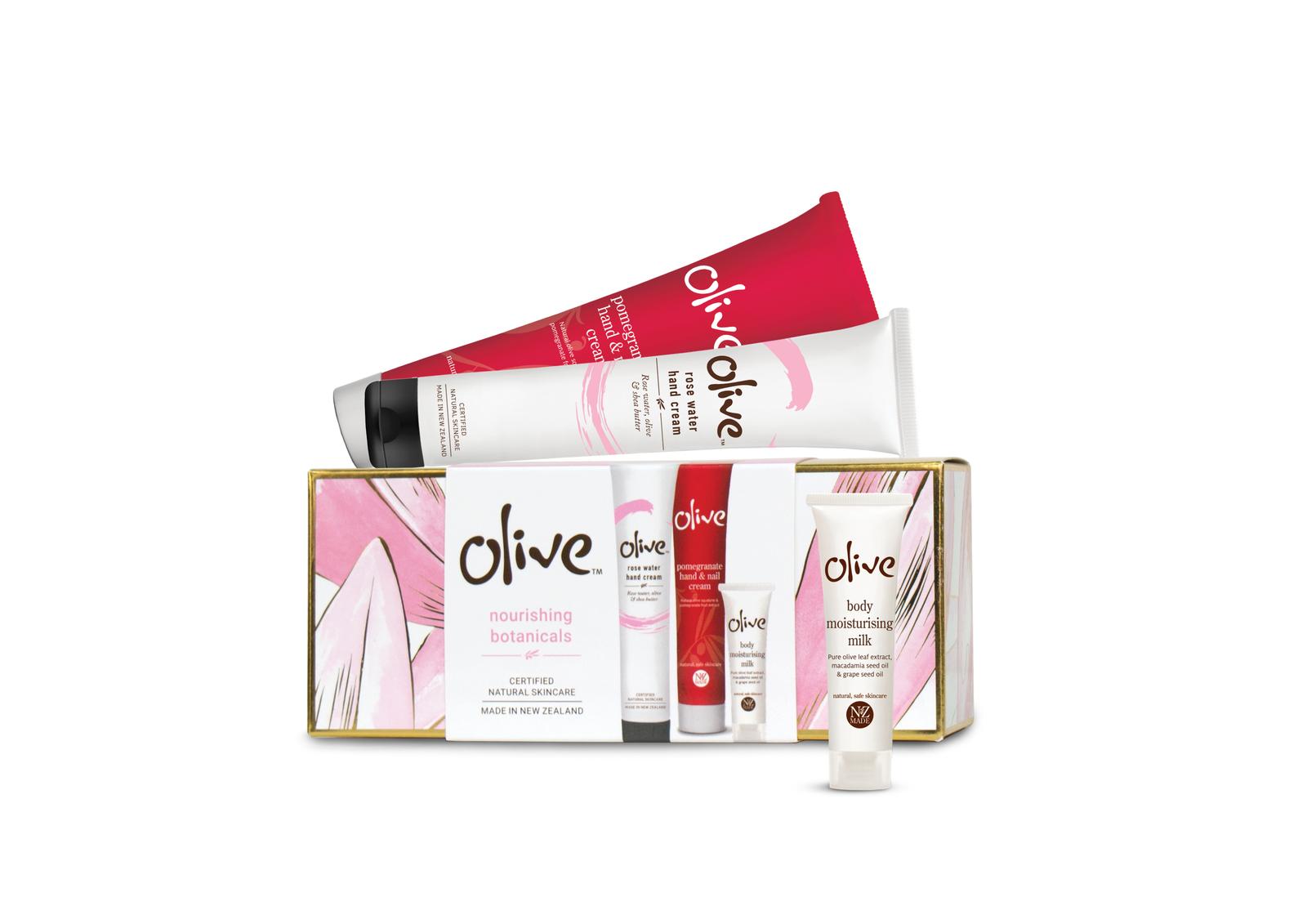 Olive: Nourishing Botanicals Pamper Pack image