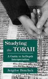 Studying the Torah by Avigdor Bonchek