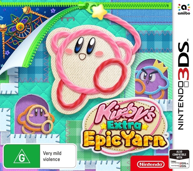 Kirby's Extra Epic Yarn for 3DS