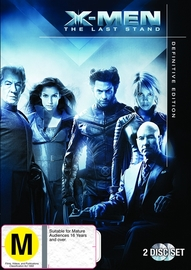 X-Men 3: The Last Stand on DVD