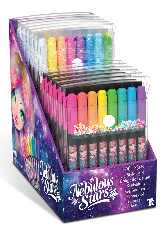 Nebulous Stars: Gel Pen - 8-Pack (Assorted Designs)