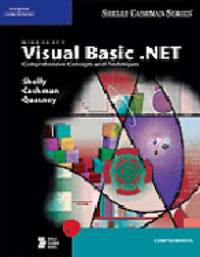 Microsoft Visual Basic.NET: Comprehensive Concepts and Techniques by Gary B Shelly image
