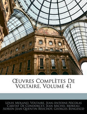 Uvres Compltes de Voltaire, Volume 41 by Voltaire image