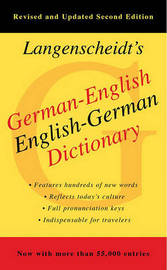 German-English Dictionary by Langenscheidt
