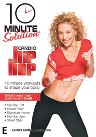 10 Minute Solution: Cardio Hip Hop on DVD