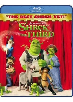 Shrek The Third on Blu-ray