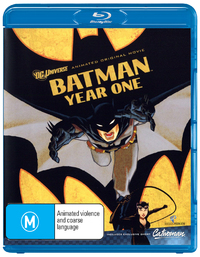 Batman Year One on Blu-ray