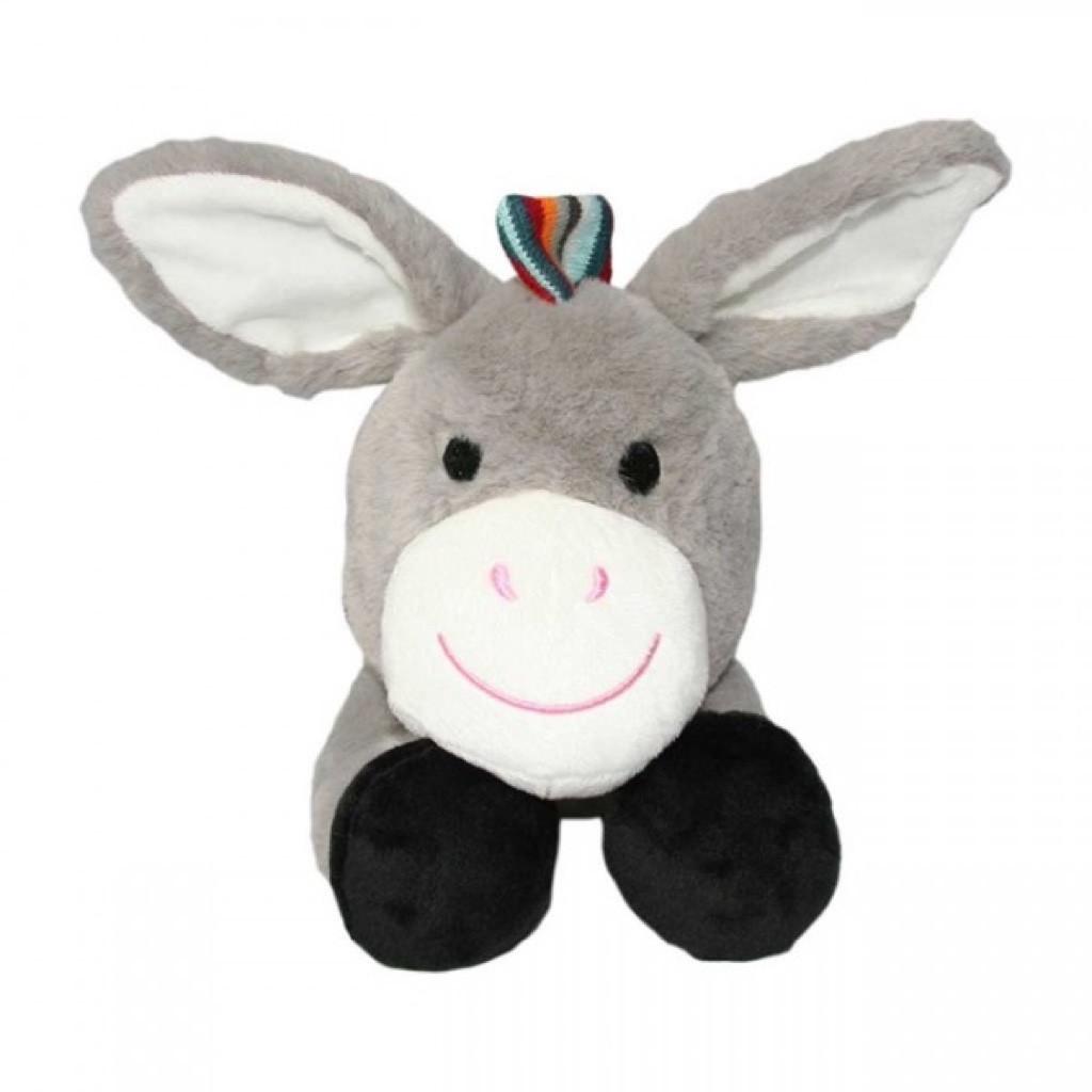 Zazu: DON the Donkey Plush Comforter with Heartbeat image