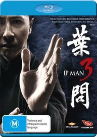 Ip Man 3 on Blu-ray