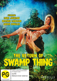 Return of Swamp Thing on DVD