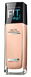 Maybelline Fit Me Matte and Poreless Foundation - Ivory (30ml)