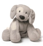 Gund: Spunky Puppy Grey Plush (25cm)
