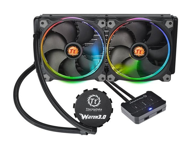 Thermaltake: Water 3.0 Riing - 280 RGB Liquid Cooling System