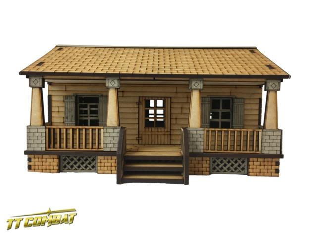 TTCombat: Tabletop Scenics - Grey Harbor House B