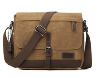 Troop London: Nomad Small Satchel Bag - Camel