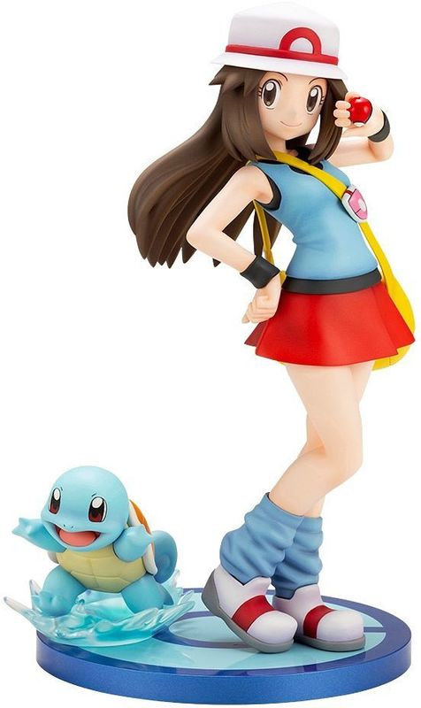 Pokemon: ARTFX J: 1/8 Green with Squirtle - PVC Figure