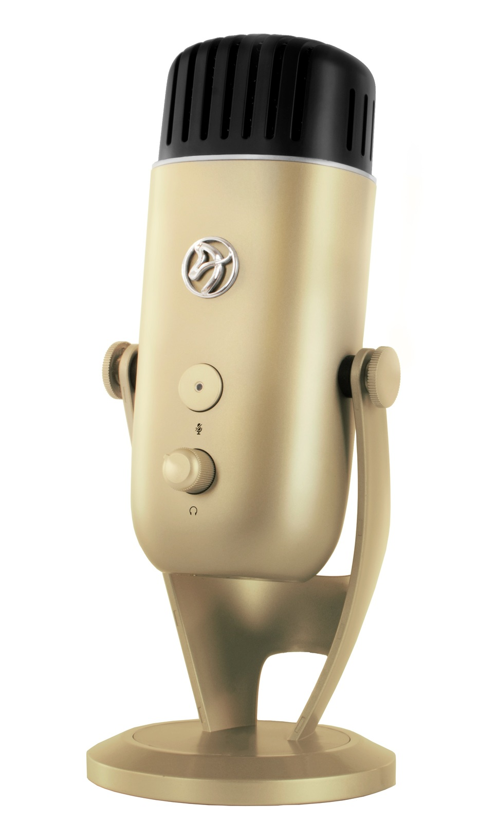 Arozzi Colonna Microphone (Gold) for PC image