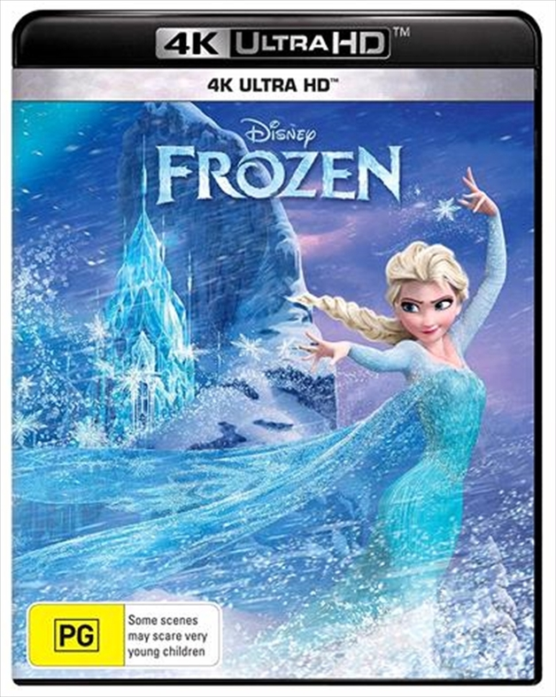Frozen on UHD Blu-ray