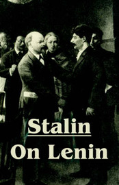 Stalin on Lenin by Joseph Stalin image