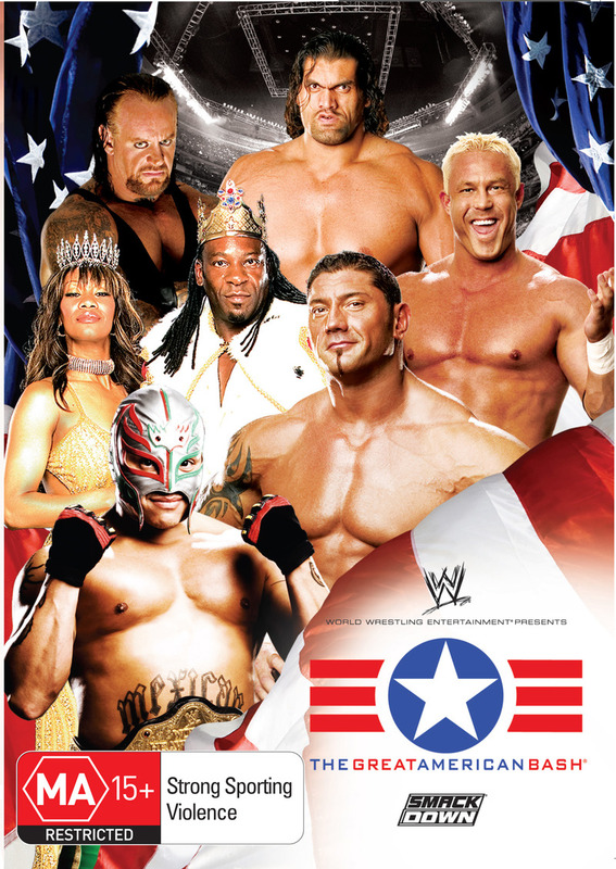 WWE - The Great American Bash 2006 on DVD