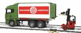 Bruder Scania R-Series Container Truck & Forklift