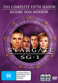 Stargate SG-1 - Season 5 (6 Disc Set) (New Packaging) on DVD