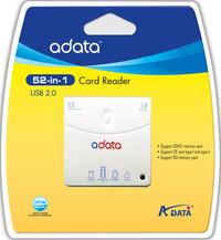 Adata 52 IN 1 USB 2.0 CARD READER/WRITER image