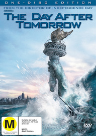 The Day After Tomorrow (One Disc) on DVD image