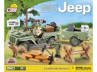 Cobi: Small Army - Willys MB with 1/4 Ton Cargo Trailer