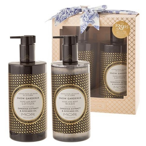 MOR Beloved Gift Set - Snow Gardinia Scented