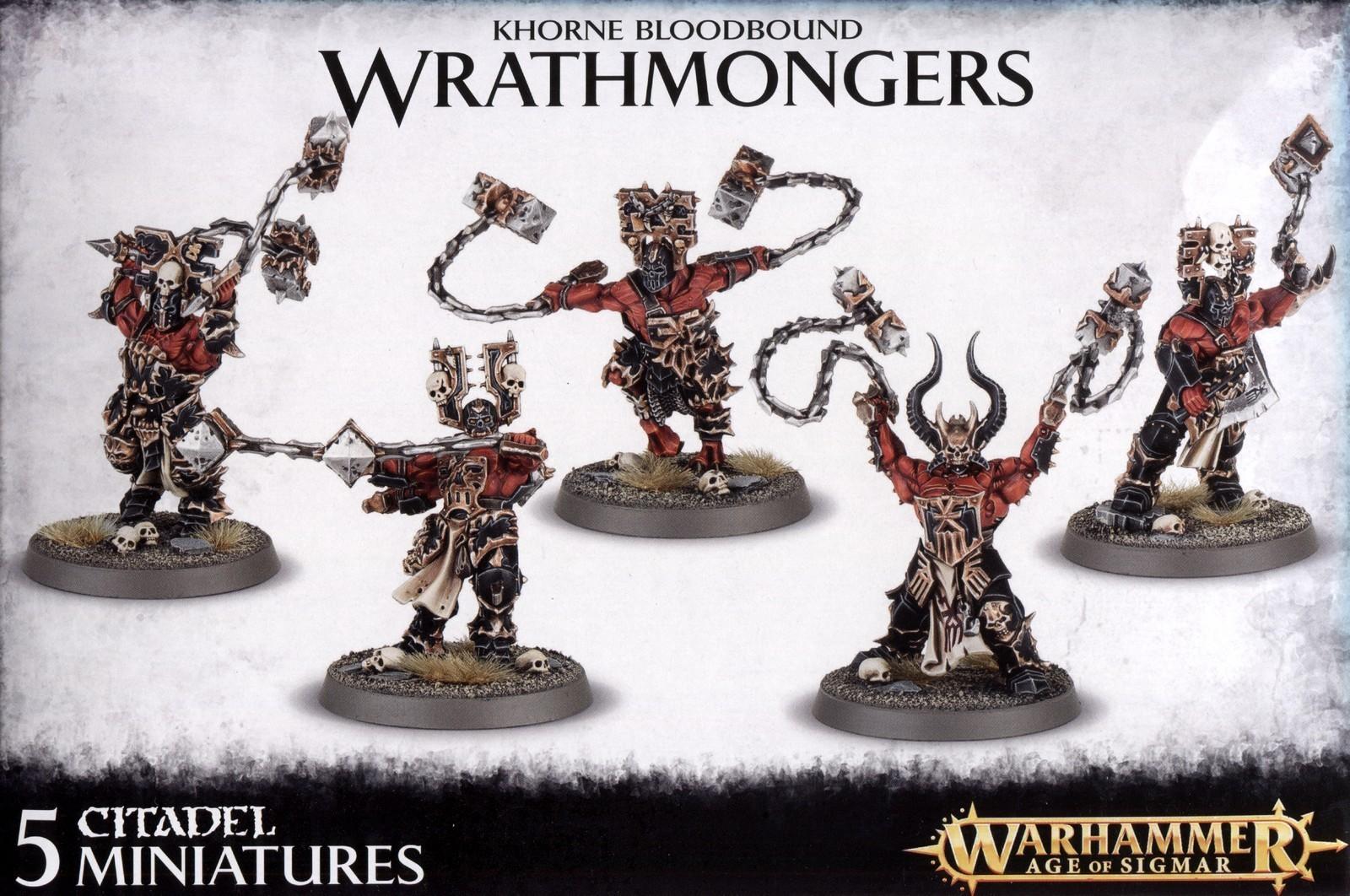 Warhammer Khorne Wrathmongers/Skullreapers image