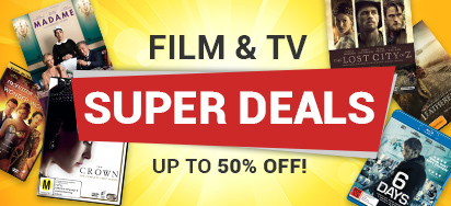 Huge Film and TV Deals! Up to 50% off!