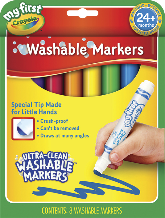 Crayola: My First Washable Markers
