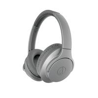 Audio-Technica: QuietPoint Wireless Active Noise Cancelling Headphones - Grey