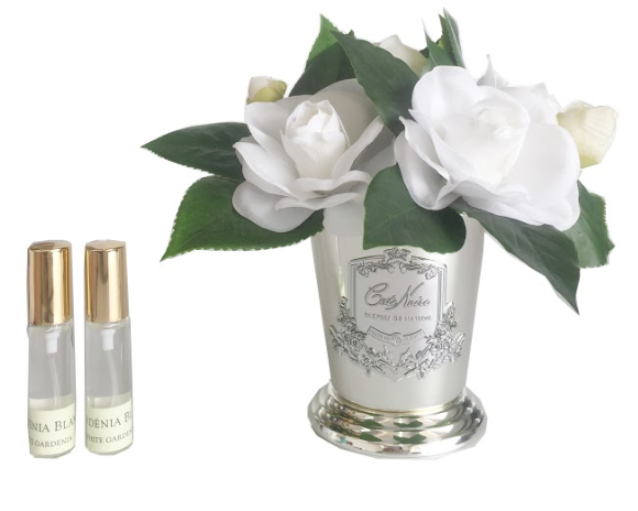 Cote Noire: Gardenia Bouquet Metal with Fragrance spray