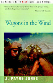 Wagons in the Wind by Jack Payne Jones image